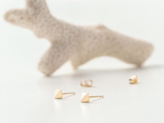 INDIA Gold Studs Earrings