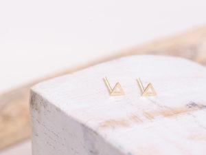 Cyprus Gold Studs Earrings